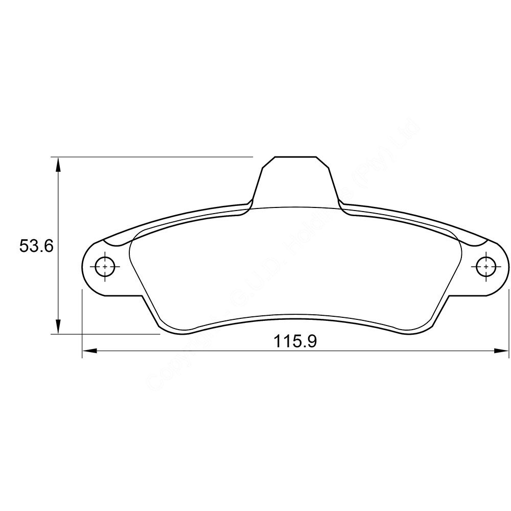 KBC Brake Pads (front) for Ford Mondeo,Ford Mondeo,Ford Mondeo ,Ford Mondeo 1