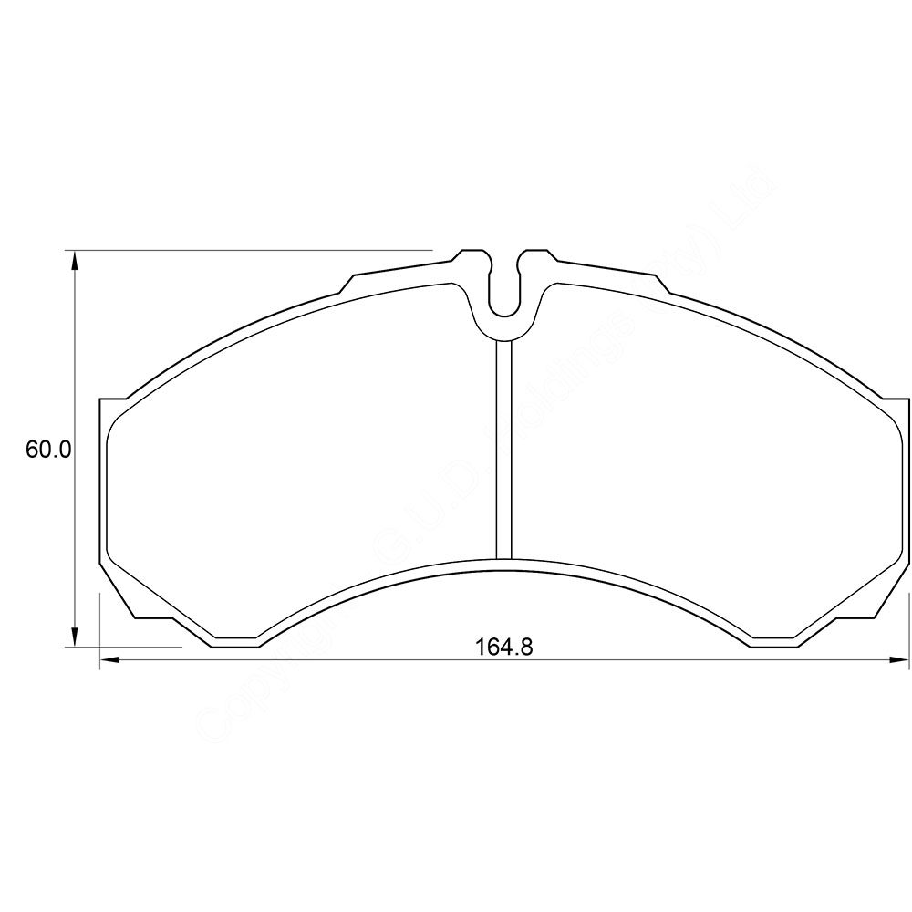 KBC Brake Pads (front) for Iveco Turbo 1