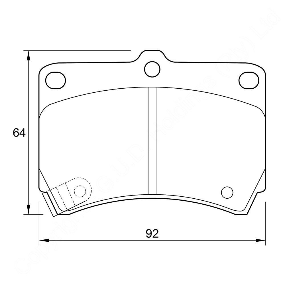 KBC Brake Pads (front) for,Opel 1