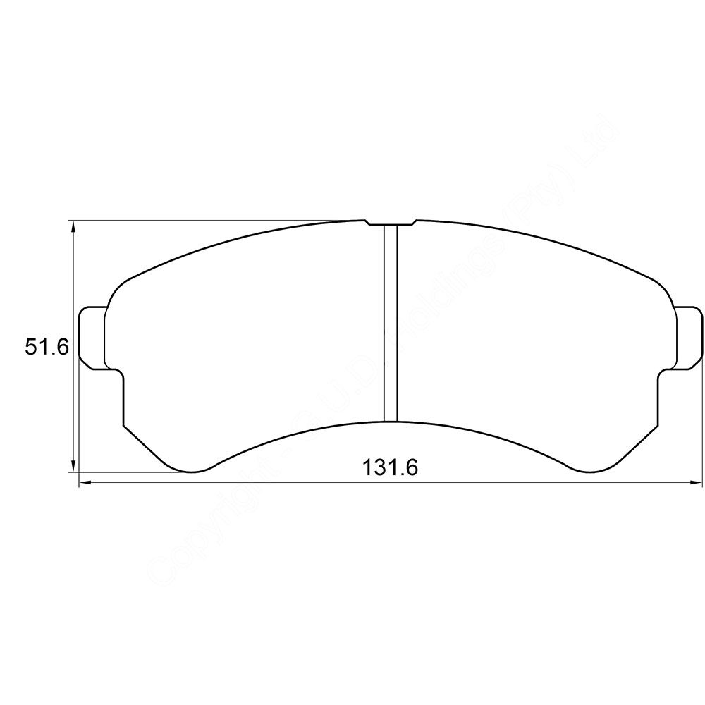 KBC Brake Pads (FRONT) for Tata 1