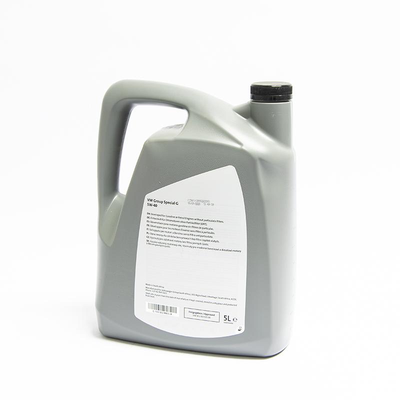 Volkswagen OEM 5W-40 SAE Oil 2