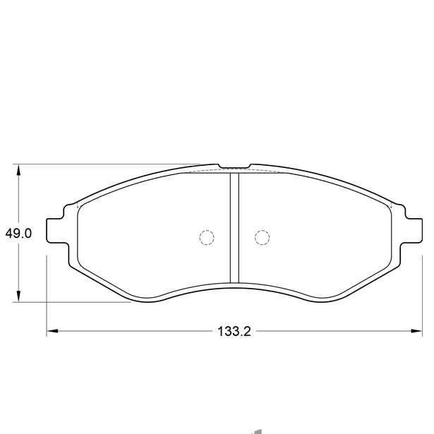 KBC Brake Pads (Front) for Chevrolet, Geely, Proton 1