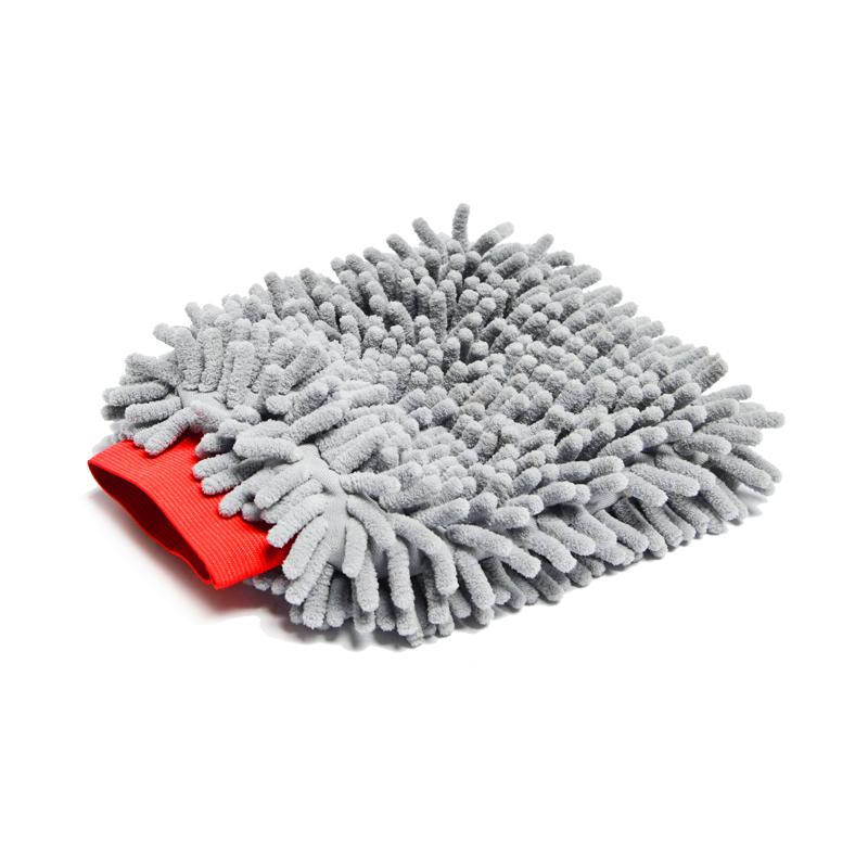 Microfiber Wheel Wash Mitt Grey by LAC 1